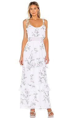 Maia Maxi Dress THE JETSET DIARIES $142