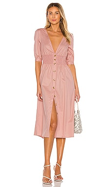 Tessa Midi Dress THE JETSET DIARIES $86
