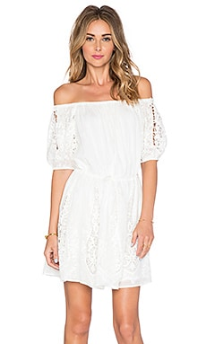 THE JETSET DIARIES Gypsy Day Dress in Ivory