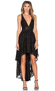 THE JETSET DIARIES Da Vinci Maxi Dress in Black