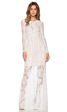 THE JETSET DIARIES Escape Maxi Dress in White