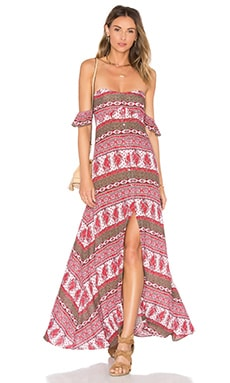 Tropical Paradise Maxi Dress in Tropical Paradise