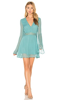 La Isla Tunic Dress in Pale Jade