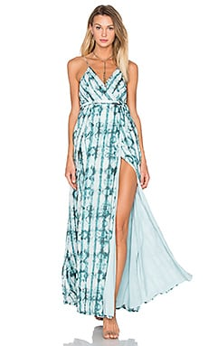 THE JETSET DIARIES Serpiente Maxi Dress in Serpiente