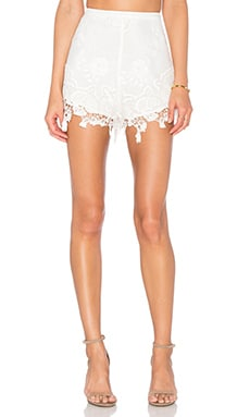 THE JETSET DIARIES Island Time Short in Ivory
