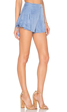 THE JETSET DIARIES Sunset Short in Smokey Blue