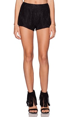 THE JETSET DIARIES Emperor Short in Black