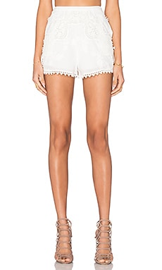 THE JETSET DIARIES Paradise Short in Ivory