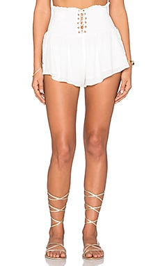 THE JETSET DIARIES Pompeii Shorts in Ivory