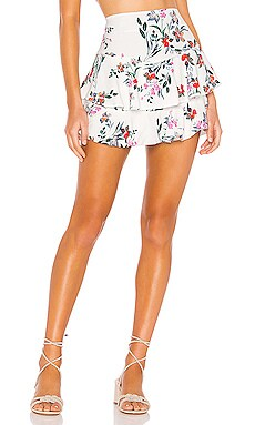 Flowers In Your Hair Skirt THE JETSET DIARIES $91