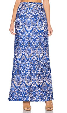 THE JETSET DIARIES Sunset Maxi Skirt in Majorelle