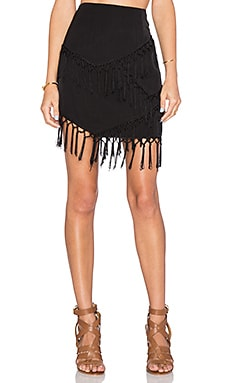 THE JETSET DIARIES Sahara Skirt in Black