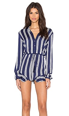 THE JETSET DIARIES Palace Romper in Stripe