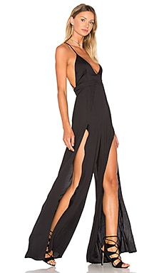 THE JETSET DIARIES Imperial Jumpsuit in Black