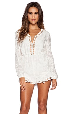 THE JETSET DIARIES Sundown Romper in White