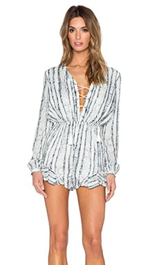 THE JETSET DIARIES Cobra Romper in Snake Print