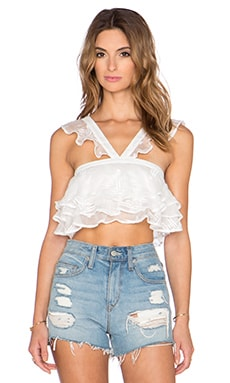 THE JETSET DIARIES Cherie Cami Top in White