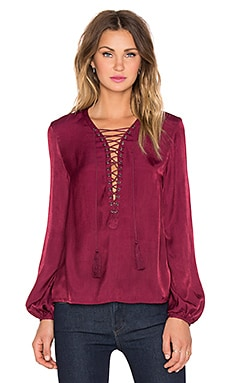 THE JETSET DIARIES x REVOLVE Delta Top in Wine