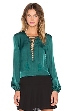 THE JETSET DIARIES x REVOLVE Delta Top in Deep Emerald