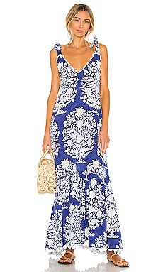 V Neck Maxi Dress juliet dunn $333