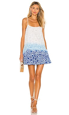 Shadow Flower Ombre Strappy Dress juliet dunn $305