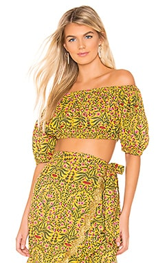 Botanical Puff Mini Top juliet dunn $97