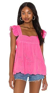Neon Baby Doll Top juliet dunn $313 NEW