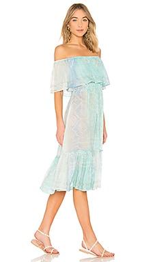 Off the Shoulder Dress juliet dunn $273