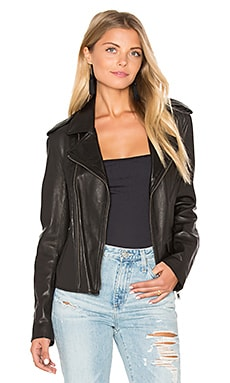 June Vintage MC Jacket in Black