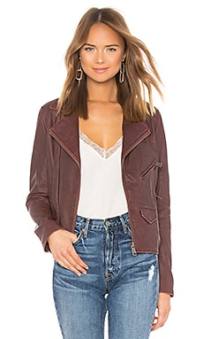 Vintage Leather Jacket June $362