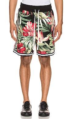 Mikala Paneled Shorts Jungle $375