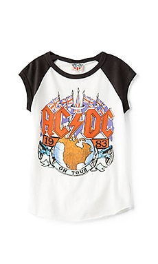 ACDC 1983 Tour Tee in Elect