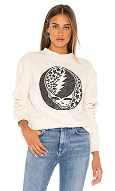 SWEAT GRAPHIQUE GRATEFUL DEAD GLITTER Junk Food $68