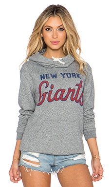 Junk Food Giants Sunday Hoodie in Heather Grey