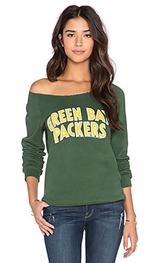 Junk Food Packers Champion Sweatshirt in Hunter