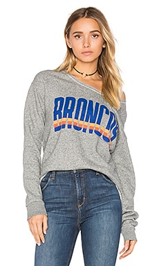 Denver Broncos Sweatshirt in Heather Gray