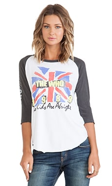 T-SHIRT RAGLAN THE WHO