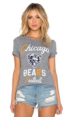 Junk Food Chicago Bears Touchdown Tee in Steel