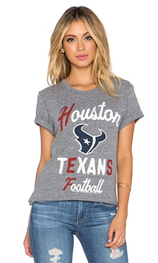 Junk Food Houston Touchdown Tee in Steel