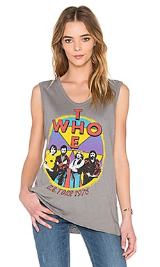 Junk Food The Who Arrow Muscle Tank in Classic Grey