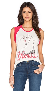 Blondie Tank in Ivory & Licorice