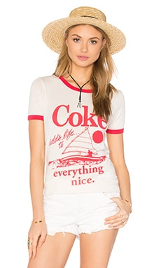 Coke Adds Life Tee in Ivory & Licorice