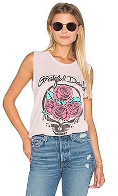 Junk Food Grateful Dead Tank in Shell