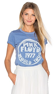 Pink Floyd World Tour Tee in Light Navy