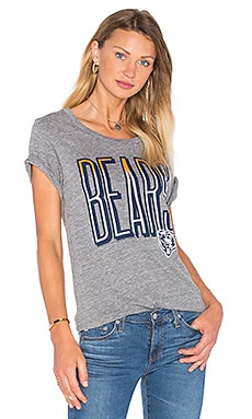 Junk Food Bears Tee in Steel