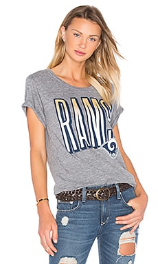 Junk Food Los Angeles Rams Tee in Steel