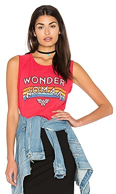 Wonder Women Tank in Licorice