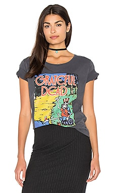 Grateful Dead Tee in Jet Black