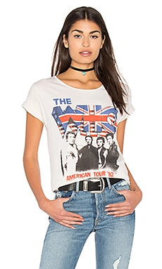 The Who American Tour Tee in Ivory