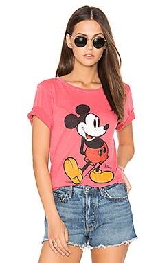 Mickey Mouse Tee in Rooster Red